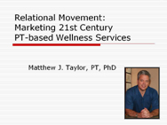 relationalmovement ppt slide